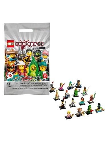 Lego  Minifigür Seri 20 71027 Renkli